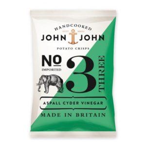 CHIPS JOHN JOHN VINAIGRE 30 g